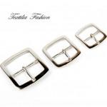Катарама метална за дамски колани с размер 25 mm