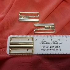 Закопчалка метални за дамско бельо и бански костюми 25 мм