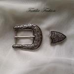 Катарама метална за дамски колани комплект с размер 30mm,