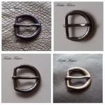Катарама метална за дамски колани с размер 15 mm