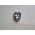 Копче Кристално във формата на сърце, Размер: 24\'\' - ПРОМОЦИЯ!