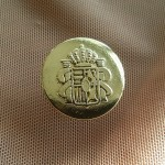 Копче метално за мъжки сака