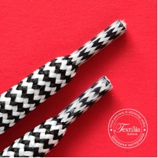 Полиестерен шнур с пълнеж,нарязан с прозрачни пластмасови накрайници Ф 8 мм
