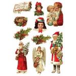"""Оризова хартия за декупаж Формат А3 - """"Коледа"""""""