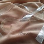 Презрамка прозрачна с глитер за сутиени, Ширина: 10мм