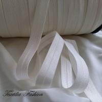 Ластик прегъвен за дамско облекло и бельо 15 mm