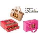 Кутия за шоколадови бонбони с две чекмеджета