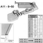 Водач за подгъв за права машина - A11