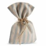 Бонбониера ленена торбичка 14x20см