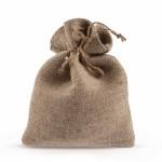 Бонбониера ленена торбичка 12x17,5см