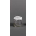 Бурканче стъклено за бонбониери 100мл