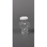 Бурканче стъклено за бонбониери във формата на сърце 100мл