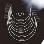 Банели за сутиен  4A_ST Метални Плоски