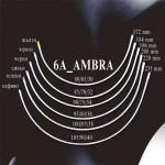Банели за сутиен 6A_AMBRA Метални Плоски