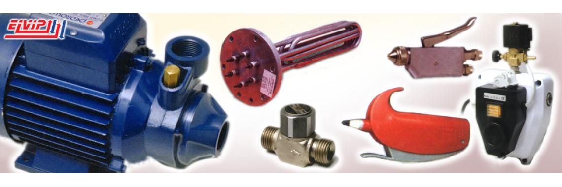 Резервни части за парогенератори и гладачни маси